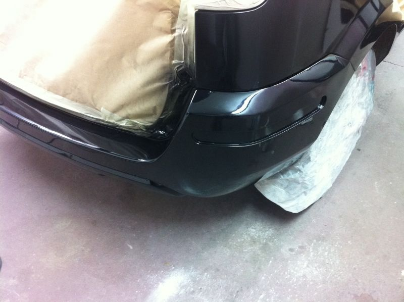 Ford fusion bumper repair after treatment