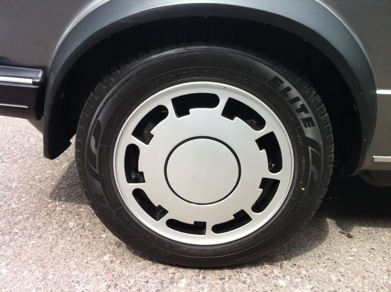 Alloy wheel repair after treatment